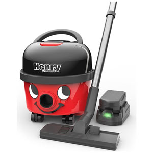 The HVB160 is a cordless vac