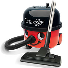 The Henry Xtra vaccuum adds to the original