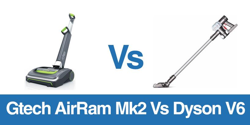 The Gtech versus the AirRam